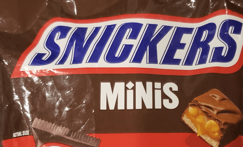 bag of Snickers Minis