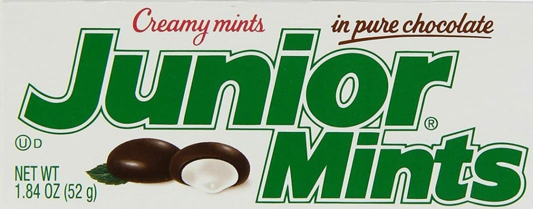 junior mints calories nutrition page logo
